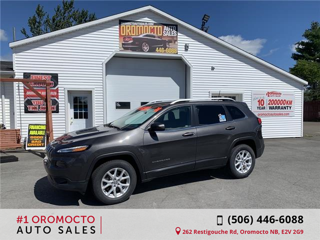 2014 Jeep Cherokee North (Stk: 341) in Oromocto - Image 1 of 15