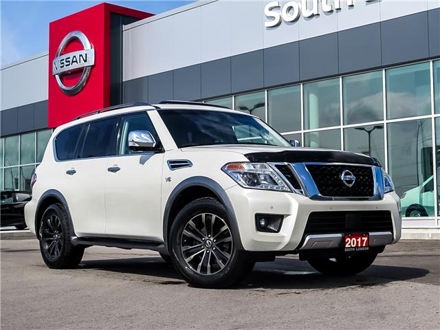 2017 Nissan Armada Platinum (Stk: 320001-1) in London - Image 1 of 27
