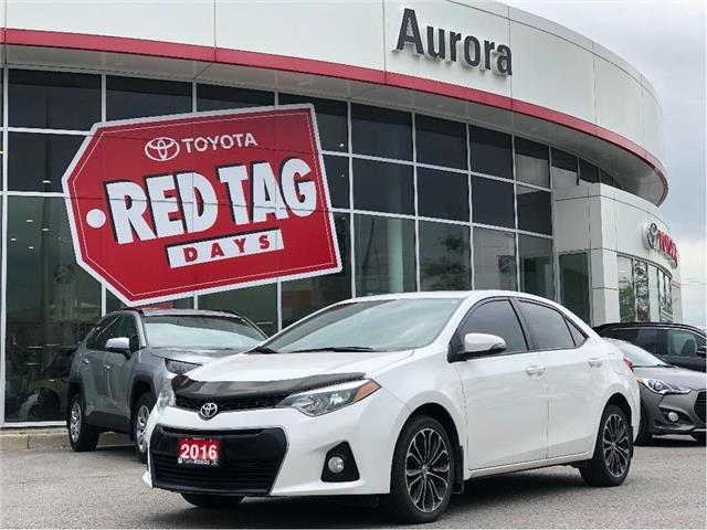 2016 Toyota Corolla S (Stk: 320421) in Aurora - Image 1 of 23