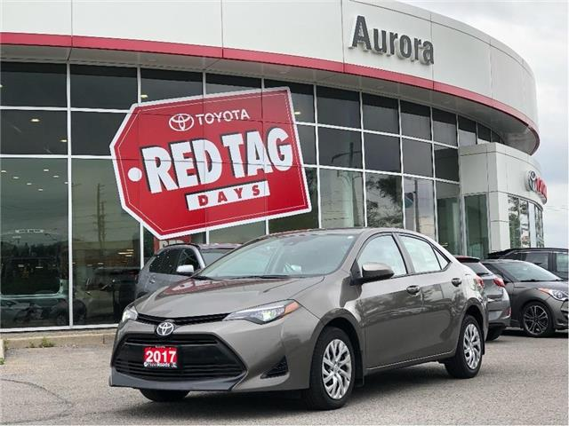 2017 Toyota Corolla LE (Stk: 319641) in Aurora - Image 1 of 22