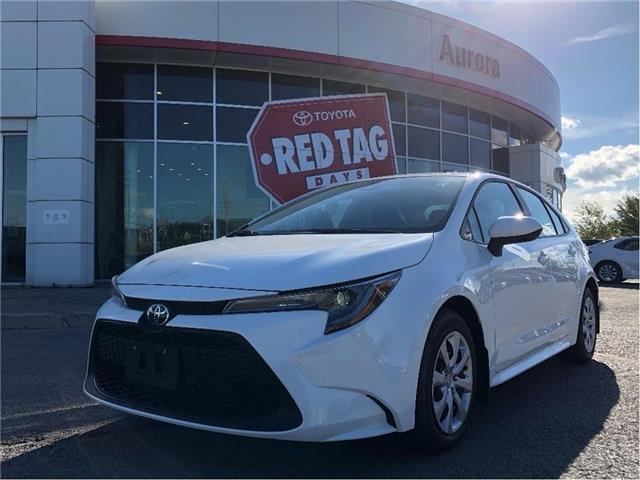 2021 Toyota Corolla LE (Stk: 32075) in Aurora - Image 1 of 15