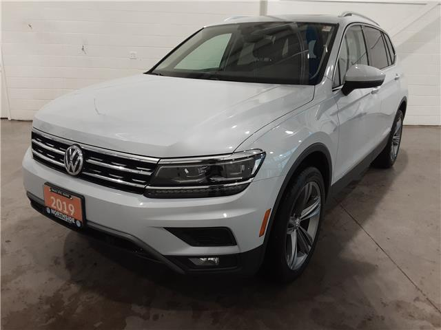 2019 Volkswagen Tiguan Highline (Stk: A21010A) in Sault Ste. Marie - Image 1 of 23