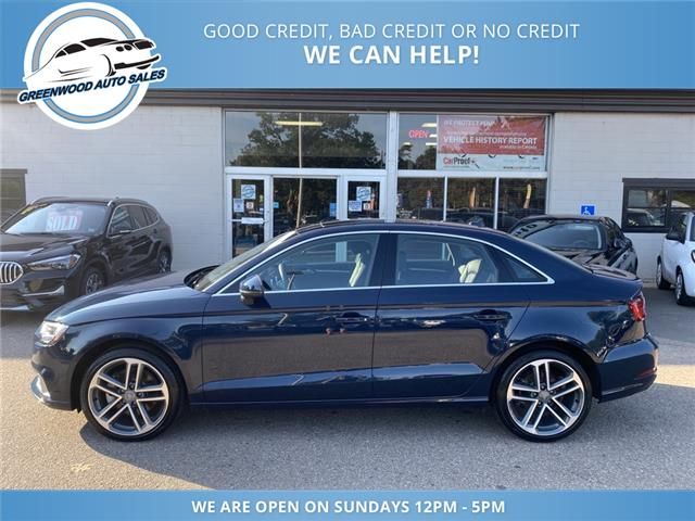 2018 Audi A3 2.0T Progressiv (Stk: 18-84433) in Greenwood - Image 1 of 30