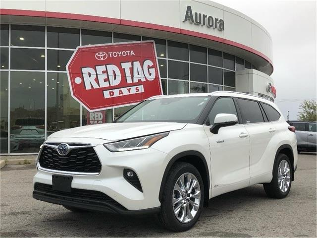 2020 Toyota Highlander Hybrid Limited (Stk: 32044) in Aurora - Image 1 of 15