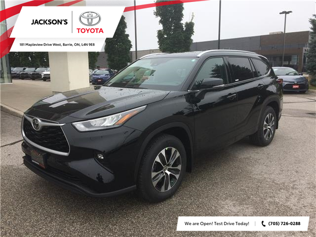 2020 Toyota Highlander XLE (Stk: 2412) in Barrie - Image 1 of 14