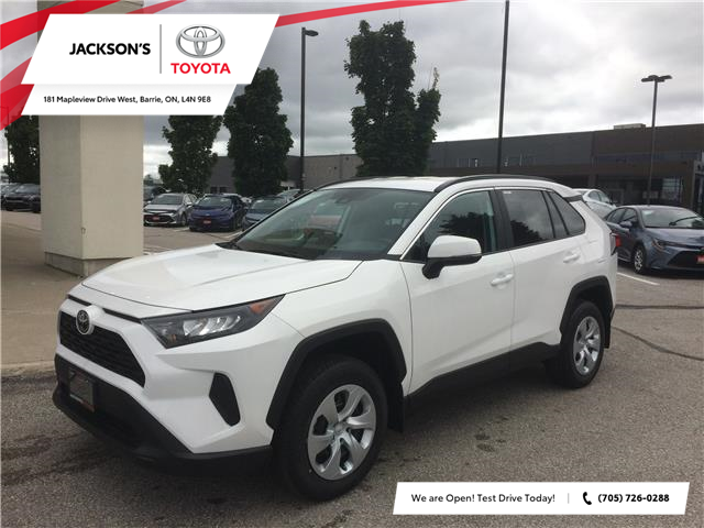2020 Toyota RAV4 LE (Stk: 07163A) in Barrie - Image 1 of 14