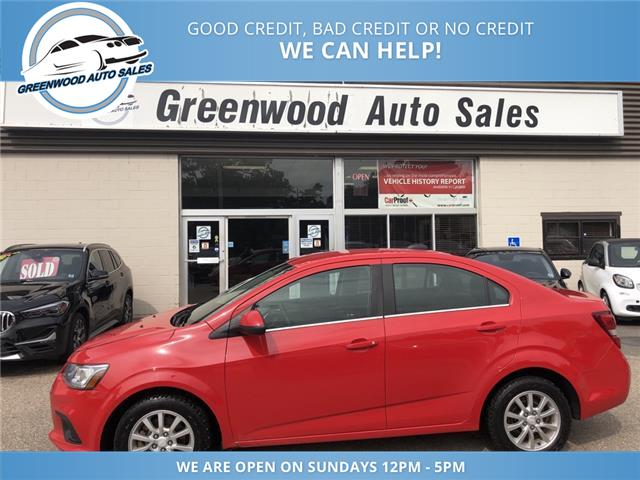 2018 Chevrolet Sonic LT Auto (Stk: 18-02386) in Greenwood - Image 1 of 22