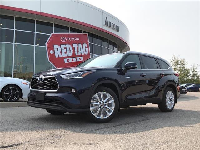 2020 Toyota Highlander Hybrid Limited (Stk: 32085) in Aurora - Image 1 of 15
