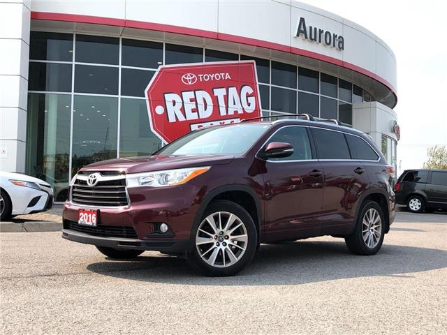 2016 Toyota Highlander XLE (Stk: 326143) in Aurora - Image 1 of 20