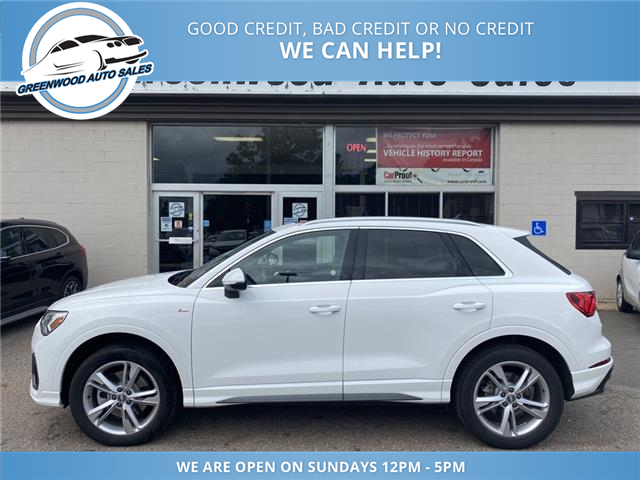 2020 Audi Q3 45 Progressiv (Stk: 20-60626) in Greenwood - Image 1 of 28