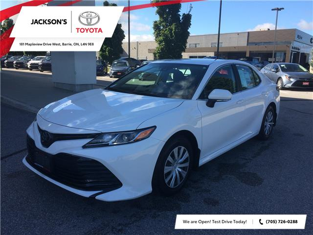 2020 Toyota Camry LE (Stk: 6046) in Barrie - Image 1 of 14