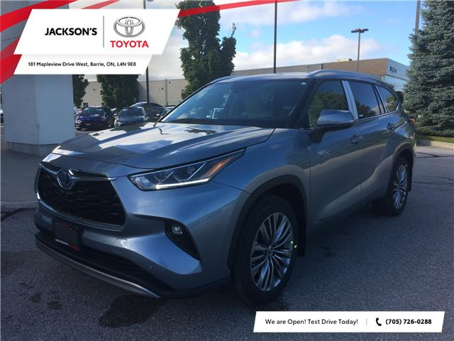 2020 Toyota Highlander Hybrid Limited (Stk: 4198) in Barrie - Image 1 of 14
