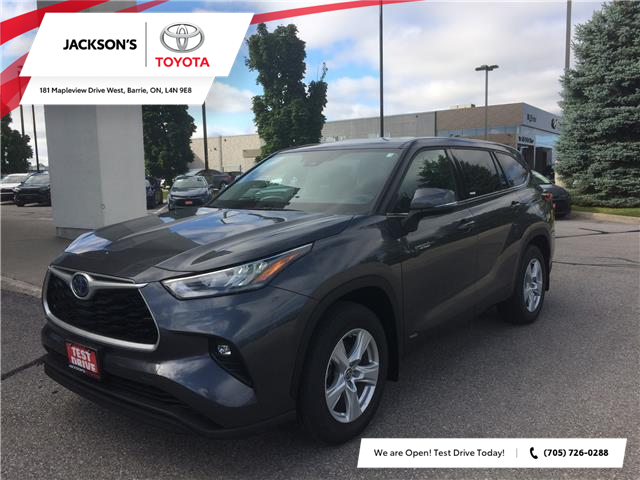 2020 Toyota Highlander Hybrid LE (Stk: 03132A) in Barrie - Image 1 of 14