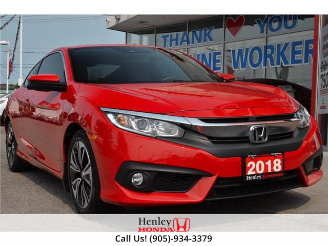 2018 Honda Civic Coupe w/Honda Sensing (Stk: R9931) in St. Catharines - Image 1 of 19