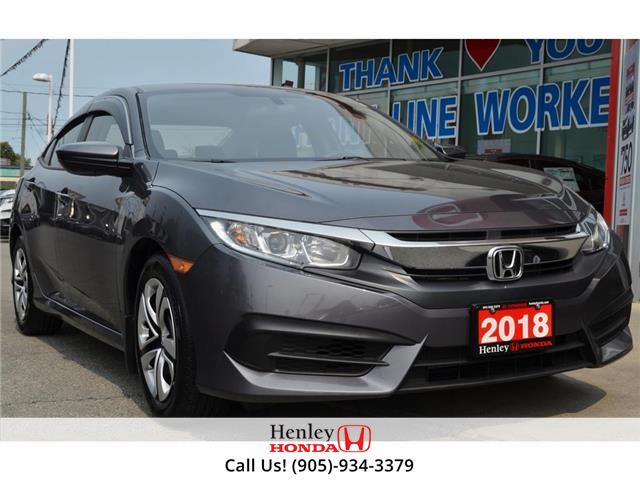 2018 Honda Civic Sedan BLUETOOTH | REAR CAM | HEATED SEATS (Stk: R9909) in St. Catharines - Image 1 of 19
