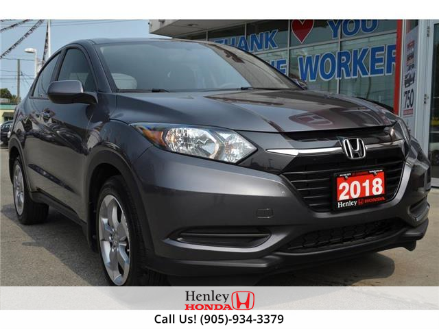 2018 Honda HR-V BLUETOOTH | REAR CAM | HEATED SEATS (Stk: R9914) in St. Catharines - Image 1 of 22