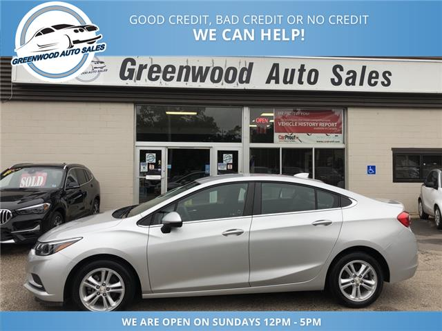 2016 Chevrolet Cruze LT Auto (Stk: 16-01690) in Greenwood - Image 1 of 21