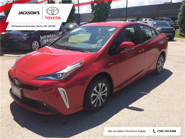 2021 Toyota Prius Technology (Stk: 13649) in Barrie - Image 1 of 14
