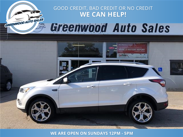 2017 Ford Escape Titanium (Stk: 17-65240) in Greenwood - Image 1 of 26