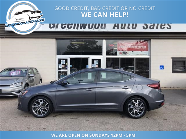 2019 Hyundai Elantra Luxury (Stk: 19-72363) in Greenwood - Image 1 of 23
