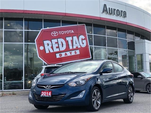 2014 Hyundai Elantra Limited (Stk: 109883) in Aurora - Image 1 of 23