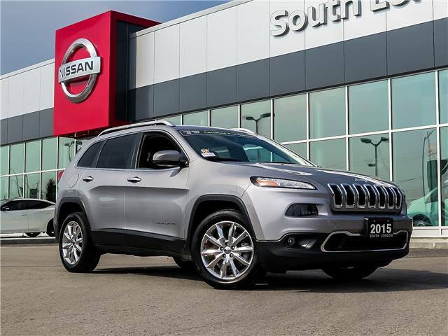 2015 Jeep Cherokee Limited (Stk: J20031-1) in London - Image 1 of 23