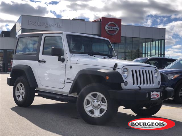 2017 Jeep Wrangler Sport (Stk: 20RG94A) in Midland - Image 1 of 11