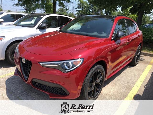 2020 Alfa Romeo Stelvio ti (Stk: 437AR) in Oakville - Image 1 of 5