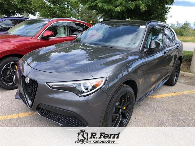 2020 Alfa Romeo Stelvio ti (Stk: 448AR) in Oakville - Image 1 of 5