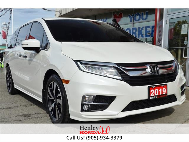 2019 Honda Odyssey NAV | DVD | LEATHER | REAR CAM (Stk: B0997) in St. Catharines - Image 1 of 32