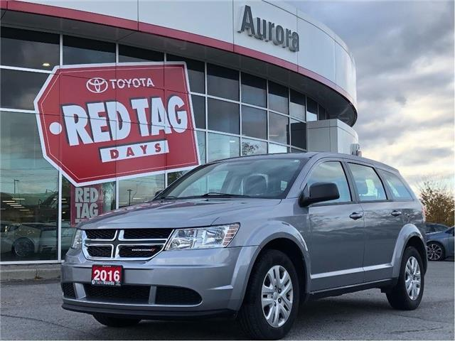 2016 Dodge Journey CVP/SE Plus (Stk: 315222) in Aurora - Image 1 of 22