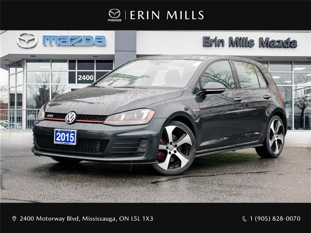 2015 Volkswagen Golf GTI 3-Door Autobahn (Stk: 20-0508A) in Mississauga - Image 1 of 26