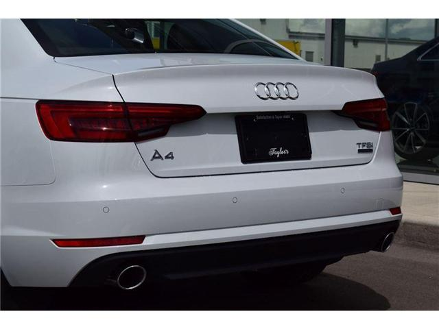 2017 Audi A4 2.0T Progressiv (Stk: 170027) in Regina - Image 11 of 42