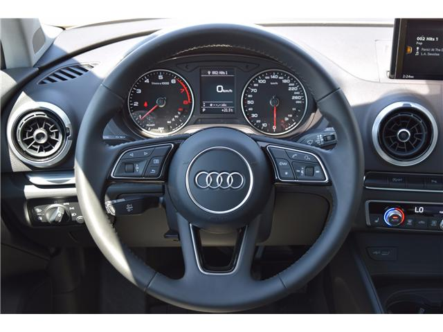 2017 Audi A3 2.0T Progressiv (Stk: 170235) in Regina - Image 17 of 35