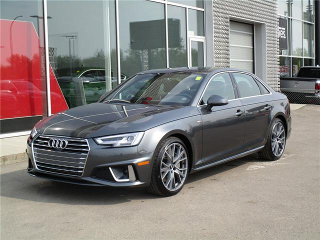 2019 Audi A4 45 Progressiv (Stk: 190359) in Regina - Image 1 of 34