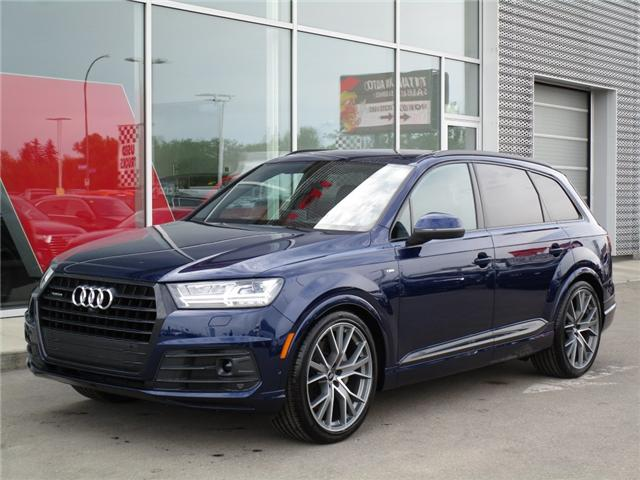 2019 Audi Q7 55 Technik (Stk: 190135) in Regina - Image 1 of 36