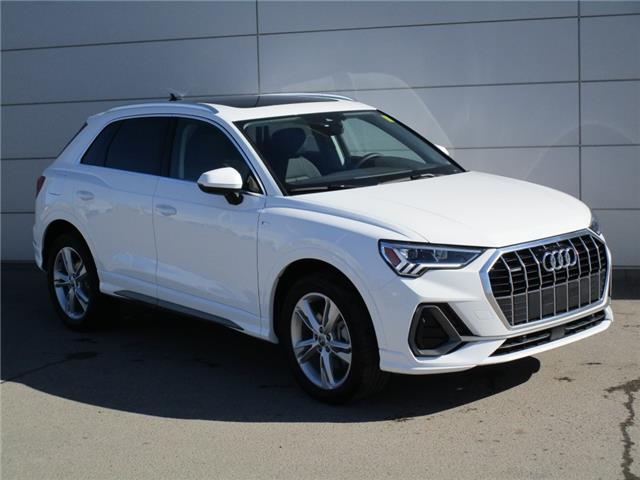 2020 Audi Q3 45 Progressiv (Stk: 200028) in Regina - Image 1 of 23