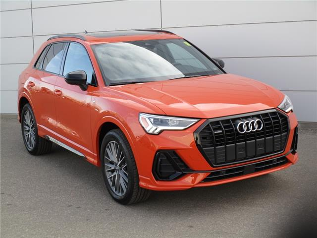 2021 Audi Q3 45 Progressiv (Stk: 210028) in Regina - Image 1 of 22