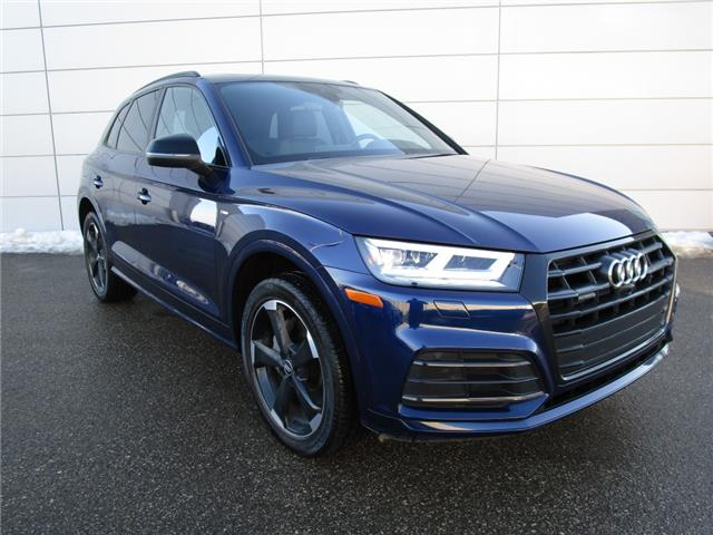 2020 Audi Q5 45 Progressiv (Stk: 200025) in Regina - Image 1 of 26