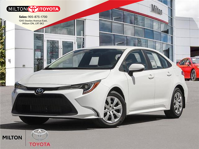 2020 Toyota Corolla LE (Stk: 127157) in Milton - Image 1 of 23