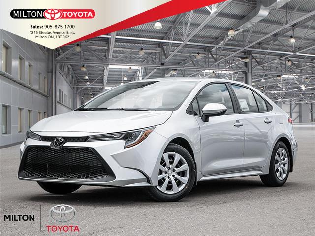 2020 Toyota Corolla LE (Stk: 143933) in Milton - Image 1 of 22