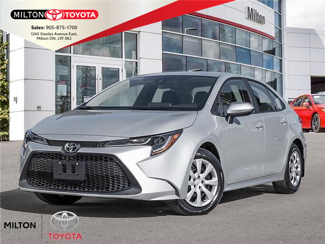 2021 Toyota Corolla LE (Stk: 152943) in Milton - Image 1 of 21