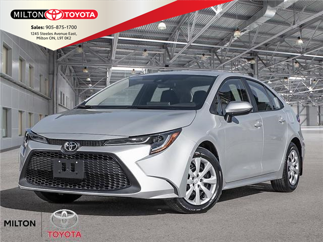 2021 Toyota Corolla LE (Stk: 151929) in Milton - Image 1 of 21