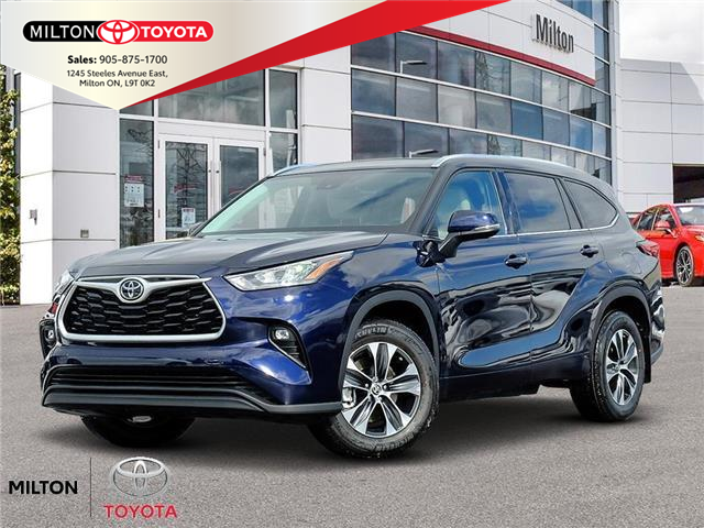 2020 Toyota Highlander XLE (Stk: 521797) in Milton - Image 1 of 10