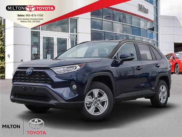 2021 Toyota RAV4 Hybrid XLE (Stk: 103470) in Milton - Image 1 of 23