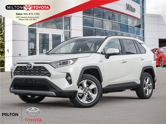 2021 Toyota RAV4 Hybrid Limited (Stk: 103614) in Milton - Image 1 of 10