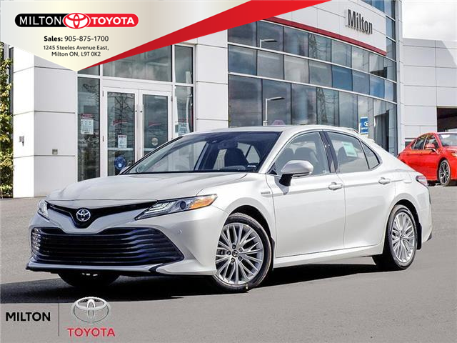 2020 Toyota Camry Hybrid XLE (Stk: 015147) in Milton - Image 1 of 23
