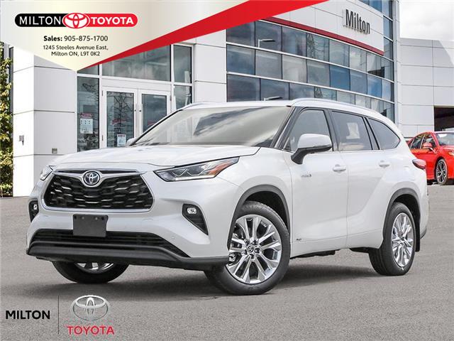 2021 Toyota Highlander Hybrid Limited (Stk: 015877) in Milton - Image 1 of 23