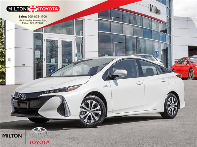 2021 Toyota Prius Prime Upgrade (Stk: 167223) in Milton - Image 1 of 10
