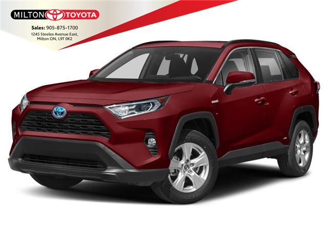 2021 Toyota RAV4 Hybrid XLE (Stk: 105847) in Milton - Image 1 of 9